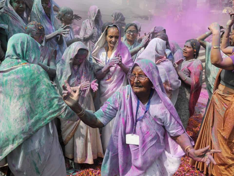 Holi Revellers - Brightlines Translation