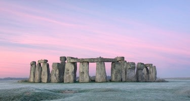 stonehenge in frost Brightlines Translation
