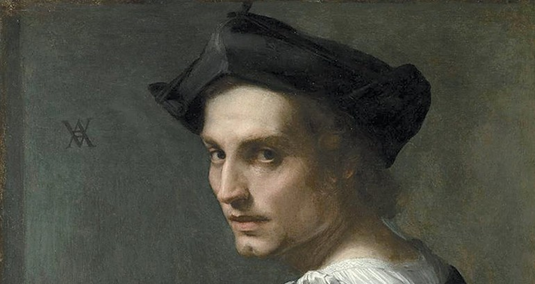 Painting of a man