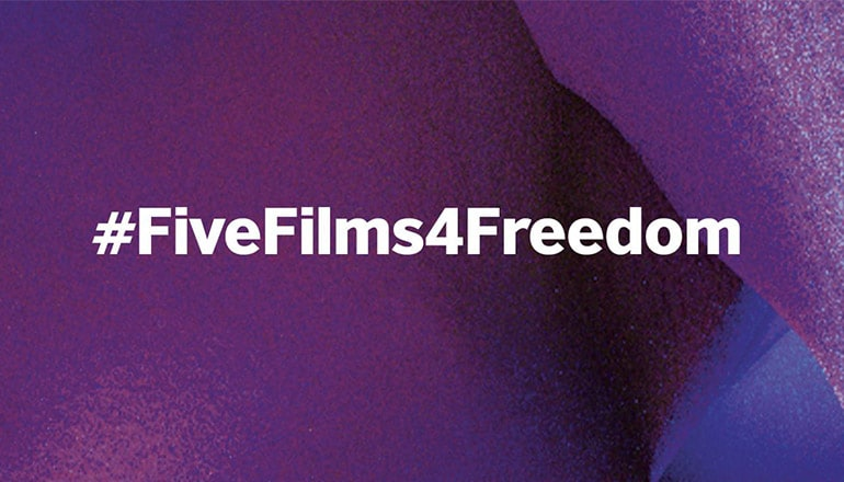 Five films for freedom